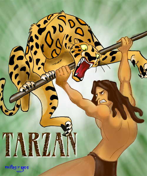 Tarzan Cartoon 4